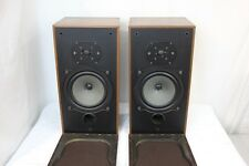 Vintage B&W DM10 Stereo Two Way Speakers Pair TESTED