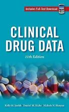 Clinical Drug Data, 11th Edition (Handbook of Clinical Drug Data), , Henyan, Nic