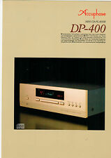 DEPLIANT Prospetto accuphase dp-400 b590
