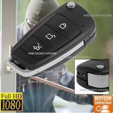 Home Video Security Camera System Recorder Car Key Remote Action HD Mini (No SPY