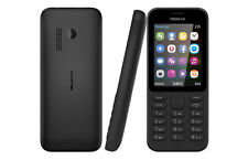Nokia 215 - Black (Unlocked) Mobile Phone Sim Free / Brand New and Boxed