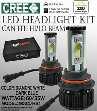 ICBEAMER 9004 HB1 6000K 30000K CANBUS CREE COB LED KIT HIGH LOW BEAM 3300LM