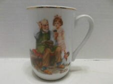 Norman Rockwell Museum Incorporated The Cobbler Coffee Or Tea Mug 1982!