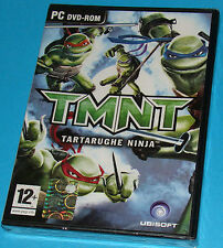 TMNT Tartarughe Ninja - PC New Nuovo Sealed