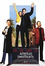 AMERICA'S SWEETHEARTS MOVIE POSTER ~ ORIGINAL 27x40 Julia Roberts John Cusack