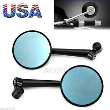 Aluminum Rearview Mirrors Motorcycle for Kawasaki Cruiser Touring Sports Bike