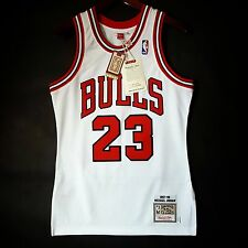 100% Authentic Michael Jordan Mitchell Ness 97 98 Bulls Home Jersey Size 36 S