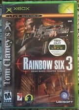 Tom Clancy's Rainbow Six 3 (Microsoft Xbox, 2003) - BRAND NEW SEALED w/MSCOA
