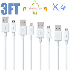 3X3M LONG For Samsung Galaxy S6 Edge+ S7 Note 5/4 Charger USB Data Cable Lead UK