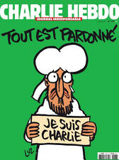 CHARLIE HEBDO Real Physical Paper Magazine 14/01/2015 N° 1178 JE SUIS CHARLIE
