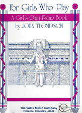 New A Girl's Own Piano Book Sheet Music by John Thompson