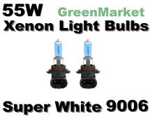 Saturn 2000 LS/LS1/LS2 Low Beam 9006/HB4 Xenon- 55w Super White Bulbs-