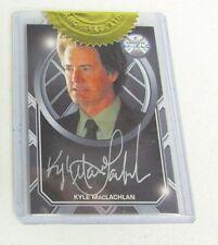 Marvel Agents of SHIELD Season 2 - Kyle MacLachlan Silver Autograph S.H.I.E.L.D.