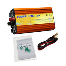 1000W Pure Sine Wave Inverter 1KW for DC 12V-AC 110V Power Inverter Converter dd