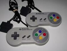 2 x Genuine Super Famicom Nintendo Controller SNES Preloved (A Grade)