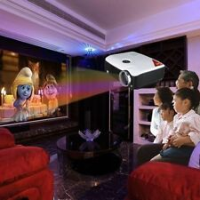 2600 Lumen 3D HD 1080P LCD/LED Multimedia Projector,Home Business Cinema,HDMI TV