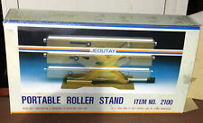 NEW PORTABLE ROLLER STAND TABLETOP JACK TYPE WOODWORK WORK SUPPORT ADJUSTABLE