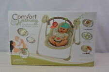 Comfort and Harmony by Bright Stars Portable Swing with 6 SpeedsCozy Kingdom