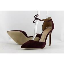 Aldo Taylor Women US 8 Burgundy Heels Defect  15030