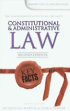 Key Facts: Constitutional and Administrative Law by Coles Joanne (2006,...