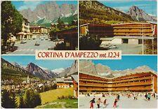CORTINA D'AMPEZZO - VEDUTINE - STADIO DEL GHIACCIO (BELLUNO) 1972