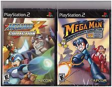 Mega Man Anniversary & X Collection Combo (Playstation 2 PS2, 17 Classic Games)