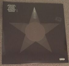 DAVID BOWIE 1st ORIGINAL Pressing 2015 Blackstar LP 180-gr die cut cover Lazarus