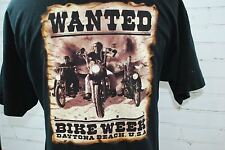 HARLEY DAVIDSON MOTORCYCLES Daytona Beach Bike Week 2001 Men's SS T-Shirt XL