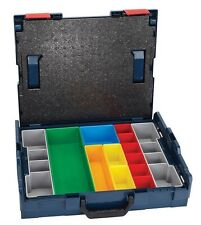 Bosch L-BOXX-1A NEW Stackable Storage Carrying Case w/13-Piece Insert Set