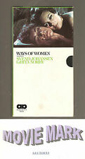 """WAYS OF WOMEN 1970 (Allied Artists Video) aka """"Amour"""" vhs RARE OOP Never on DVD!"""