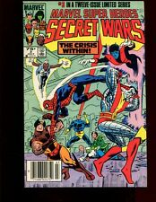 SECRET WARS 3 NEWSSTAND EDITION(4.0)(VG)MIKE ZECK-WOLVERINE-SPIDERMAN(b028)