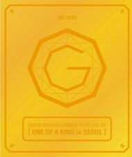 G-DRAGON 2013 WORLD TOUR LIVE CD [ ONE OF A KIND IN SEOUL] GOLD COVER [BIGBANG]