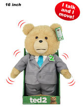 "TED 2 - Ted 16"" Animated Plush Suit Outfit with Sound by Commonwealth #NEW"