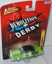 Forever 64 r27 - 1969 Lincoln Continental demolition derby 1:64 Johnny Lightning
