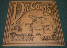 It'll Tickle Your Innards Dr. Corn's Bluegrass Remedy~AUTOGRAPHED~Insert~NM LP