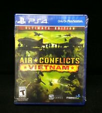 Air Conflicts: Vietnam -- Ultimate Edition  (Sony PlayStation 4, 2014) In Stock