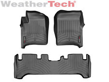 WeatherTech® DigitalFit FloorLiner for Toyota Land Cruiser - 1991-1997 - Black