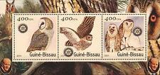 (206549) Birds, Owl, Rotary, Guinea-Bissau
