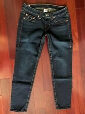 NEW TRUE RELIGION WOMENS JEANS SKINNY SIZE 31