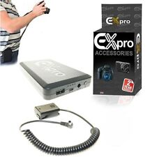 Ex-Pro® On-The-Move 16000mAh Battery System NPFW50 DR for Sony Alpha A35 A37 A55