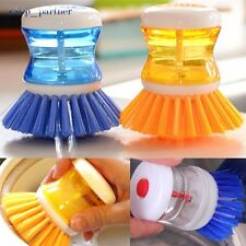 Washing Up Scrubbing Brushes Easy Grip Dish Washer Kitchen Sink Cleaning Up