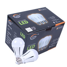 6 x 12W A19 E26 Led Bulb Light,100W Equiv, Not Dimmable, 1050lm, 3000K