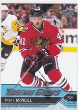 MARK McNEILL 2016-17 16-17 UPPER DECK YOUNG GUNS RC #464 CHICAGO