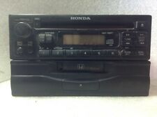 1999 2000 Honda CRV CRX radio Cd Player cassette Pair OEM 39100-S10-A500 #876