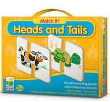 NEW Match It! Puzzle Games Heads and Tails Game THE LEARNING JOURNEY 2+