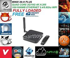 MINIX NEO X8 H Plus S812 Quad Core 2G/16G KODI 16.1 FULLY LOADED