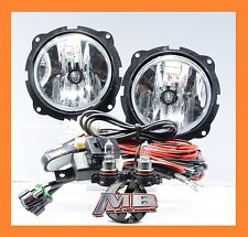 For 2007-2012 Ford Escape Fog Lights Chrome Clear Lamp Wiring Harness Switch