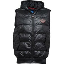 adidas Originals Trefoil Gilet Bodywarmer Padded Vest Top 100% Genuine ALL SIZES
