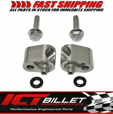 "LS1 1/8"" COOLANT STEAM PORT HEAD CROSSOVER TUBE adapter billet LS1 LSX LS 551694"