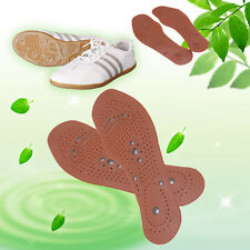Clean Health Foot Feet Care Magnetic Therapy Massage Insole Shoe Thenar Pad